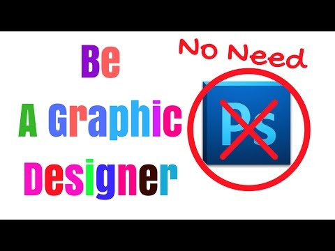 Without Any Skills Be A Professional Graphic Designer Quickly Online 👍👍