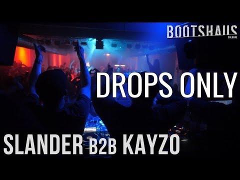Slander b2b Kayzo - Bootshaus 2017 | Drops Only