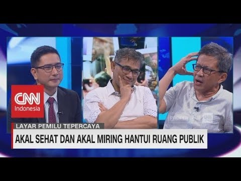 Debat Rocky Gerung & Budiman Sudjatmiko Bicara Genderuwo, Perda Syariah Sampai Orde Baru