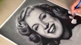 Marilyn Monroe -  Speed Drawing