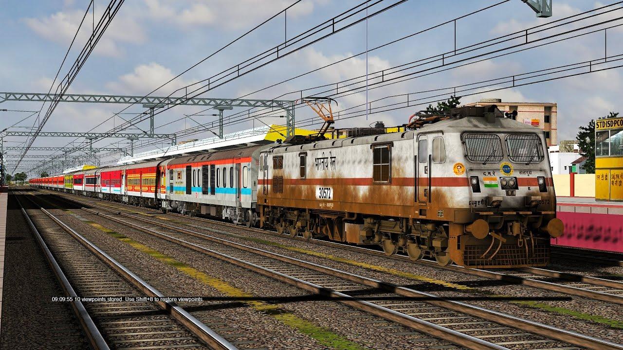 Download Western Railways V7 | 19331 KVCL INDB Express | BGPro LGD WAP7 | 120KMPH High-Speed Run | Vadodara