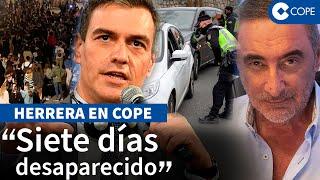 """Herrera: """"Sánchez es el campeón mundial de jugar al escondite"""""""