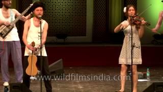 Iuliia Usova performs to music by Otava Yo