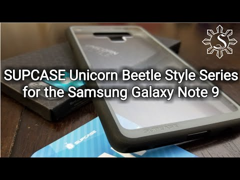 online store 5d363 b3b63 Unboxing: SUPCASE [UB Style Series] Case for the Samsung Galaxy Note 9.