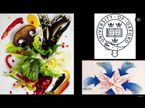"""Art and Science of Food • Charles Michel at """"Food, Brain, Us"""" • Royal Institution •"""