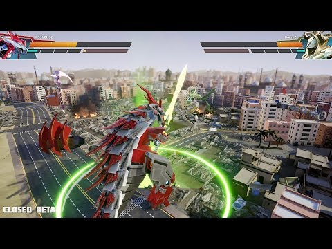 [PC] Override: Mech City Brawl -  26 Minutes of Online Gameplay | Closed Beta (4k 60fps)