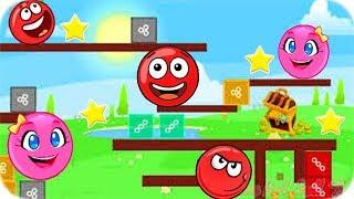Videos Para Niños - New Red Ball 2 - Juegos Divertidos Para Niños