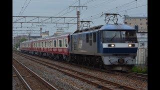 甲種輸送 EF210 17号機+京急新1000形(1637F) 近江八幡駅通過