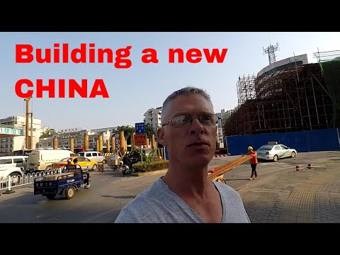 Construction never ends in Nanning, China