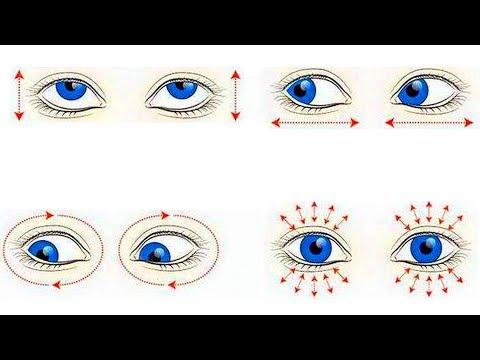 Гимнастика для глаз. Комплекс упражнений для глаз