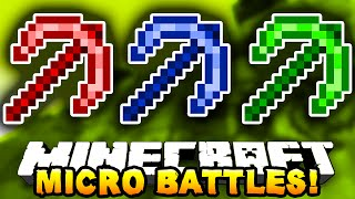 Minecraft MICRO BATTLES!' #13 - w/ PrestonPlayz, PeteZahHutt & Kenny