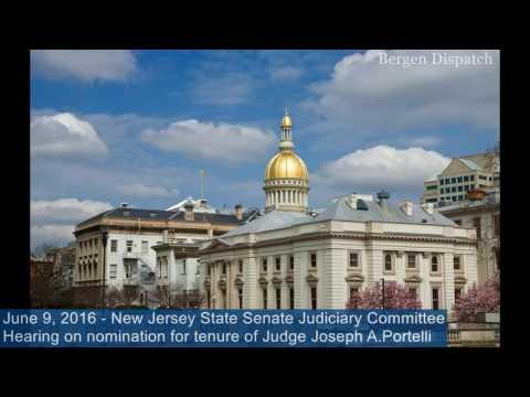 Hearing on nomination for tenure of Judge Joseph A.Portelli