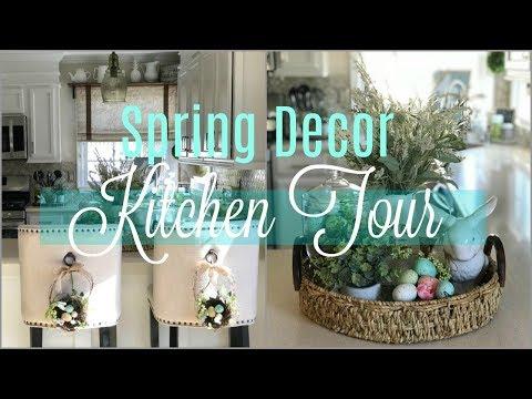 2018 Spring DIY & Decor Challenge   Spring Decor Farmhouse Chic Kitchen Tour