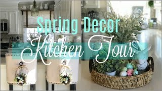 2018 Spring DIY & Decor Challenge | Spring Decor Farmhouse Chic Kitchen Tour