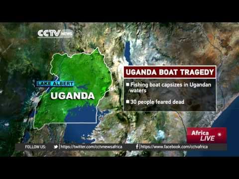 Boat capsizes in Lake Albert, 30 passengers feared drowned