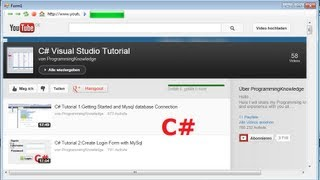 C# Tutorial 58:creating A Simple Web Browser (back, Forward, Refresh,...)with Progress Bar In C#