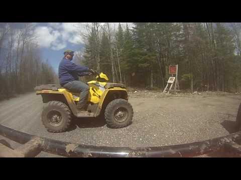 Hurley Wisconsin ATV Trip 4/2016 Part 2
