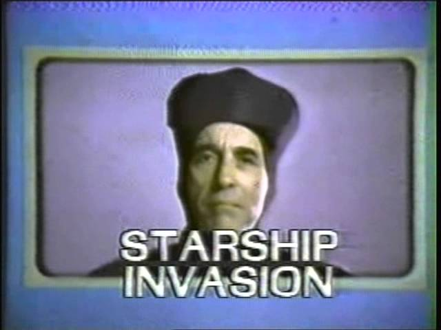 """Commercial for the movie """"Starship Invasions"""" in WGN - 1983"""
