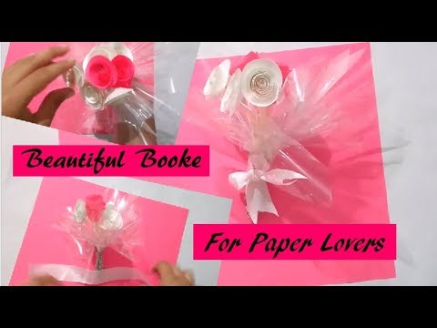 How to make Paper Flower Booke | Paper Flower - Best DIY - Art and Craft | Eazy and Beautiful