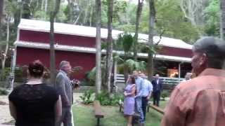 Barn wedding in Brooksville, FL Tampa area wedding reception, country setting