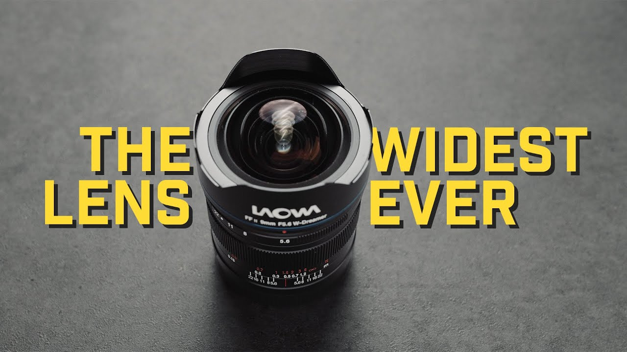 World's WIDEST Rectilinear Lens! | Laowa 9mm f5.6 FF Lens Review