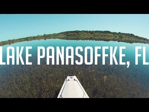 Kayak Fishing Lake Panasoffke, FL