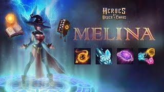 Heroes of Order & Chaos - Melina Spotlight