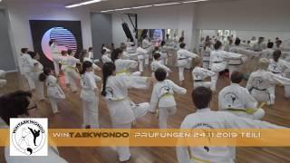 WinTaekwondo Prüfungen, Traditionelles Taekwondo 24.11.2019 Teil 1