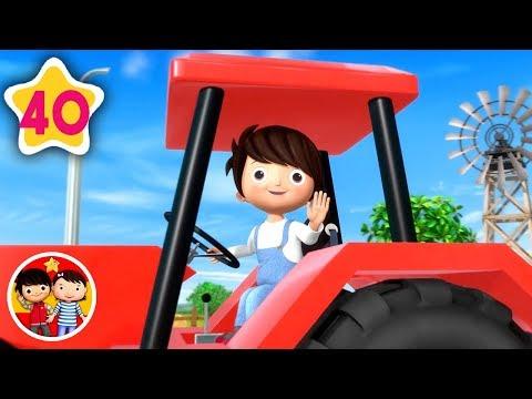 Tractor Mi Coraz/ón Late por los Tractores Manga Larga