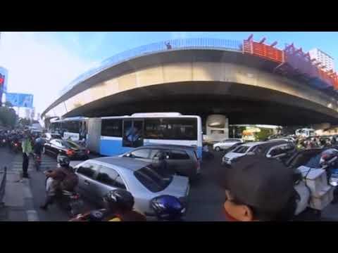 Kemacetan Jakarta 360 Derajat