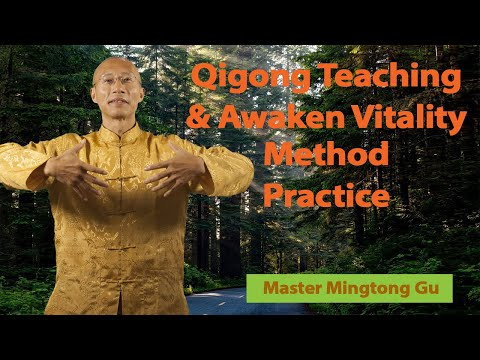 Free Online Qigong Lesson and Practice with Master Mingtong Gu