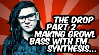Making Skrillex style GROWL basses with FM synthesis - Ableton Tutorial Tuesday