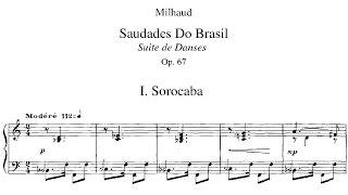 Darius Milhaud - Saudades do Brasil (1920)