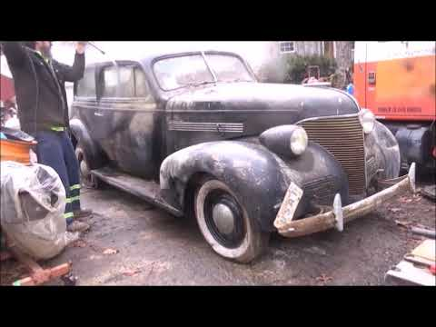 1939 CHEVROLET MASTER FIRST START IN 48 YEARS WILL IT RUN