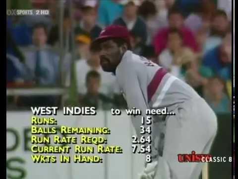 Viv Richards _Brutal Batting_ 60(40)_ West Indies v Australia 3rd final at SCG 1988_89 WSC