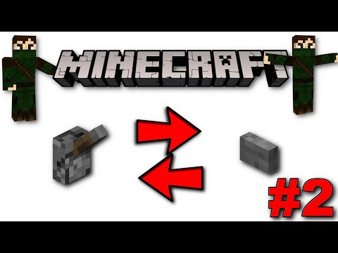 Minecraft How To: Turn A Lever Into A Button / A Button Into A Lever #2