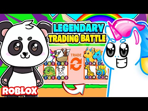 I Challenged Honey The Unicorn To An Adopt Me Trading Battle! *LEGENDARY ONLY* Roblox Adopt Me