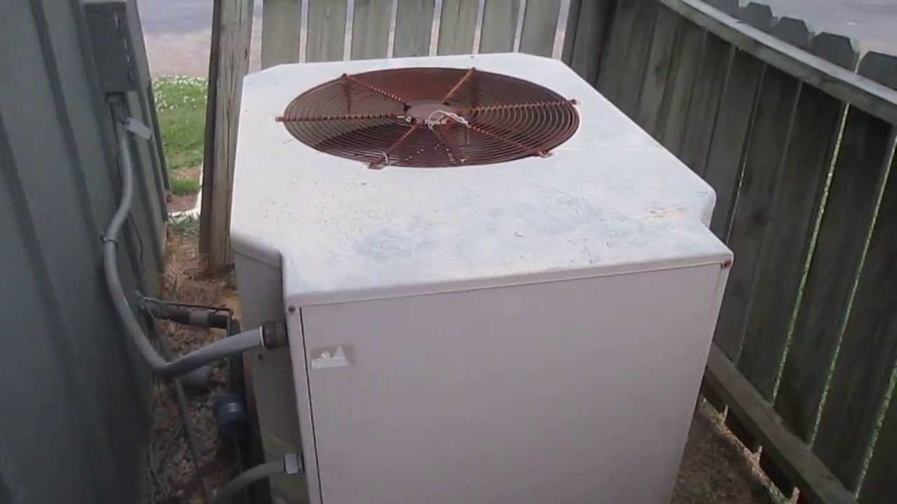 Old York Hvac Unit Youtube