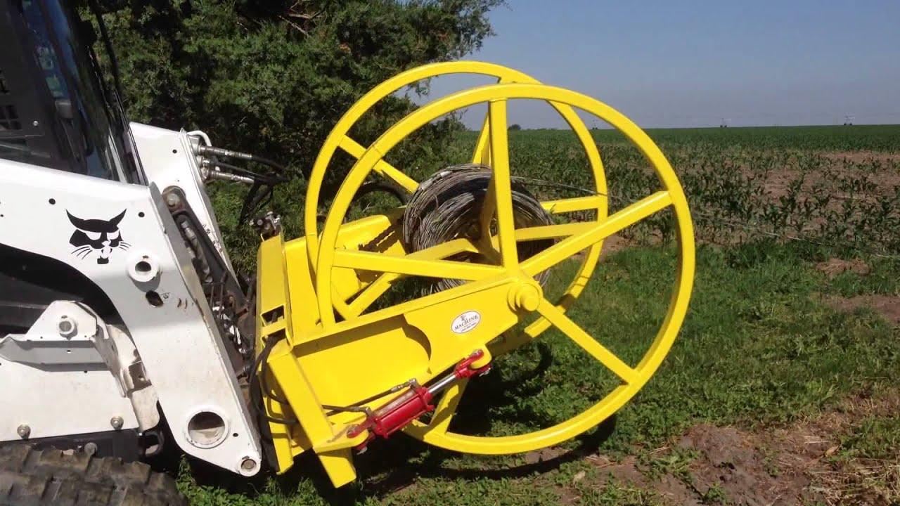 High Wire Winder Pickup Wind Unload Spool Tcmachin