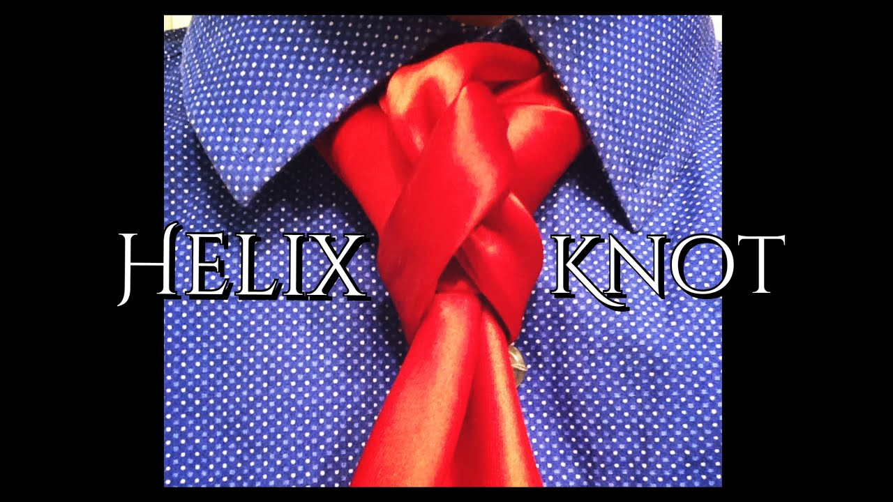 Helix knot how to tie a tie youtube ccuart Choice Image