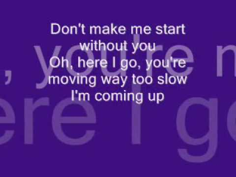 Karaoke Start Without You - Video with Lyrics - Alexandra ...
