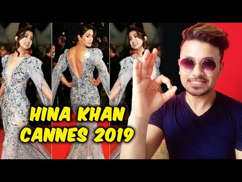 Cannes 2019 | Hina Khan Makes A Stunning Debut | Cannes 2019 Red Carpet
