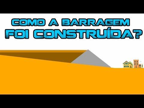 Como foi feita a barragem de Brumadinho