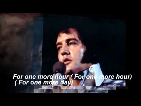 Elvis Presley  - Softly, As I Leave You  - with story and song lyrics