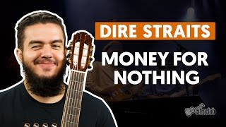 Money For Nothing - Dire Straits (aula de guitarra)