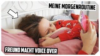 Meine MORGENROUTINE im Winter 2019❄️ (Freund macht Voice Over) | Mone