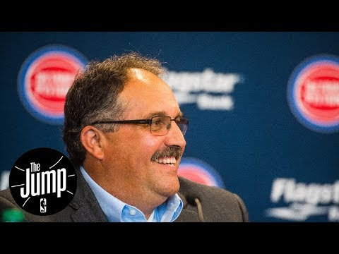 Pistons coach says NBA should eliminate draft | The Jump | ESPN