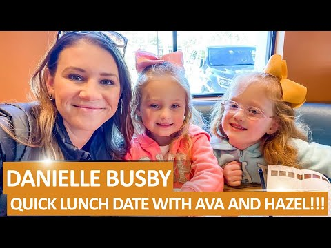 HAPPY HOLIDAY!!! 'OutDaughtered': Danielle Busby ENJOYED Lunch Date With Hazel And Ava!!!
