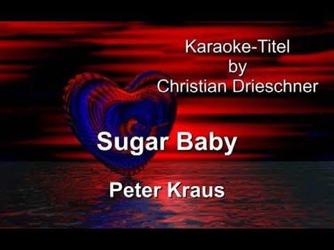 Sugar Baby - Peter Kraus - Karaoke