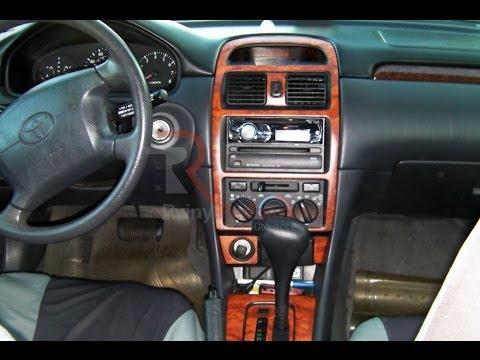 Wood Grain Dash Kits 1999 2003 Toyota Solara Youtube